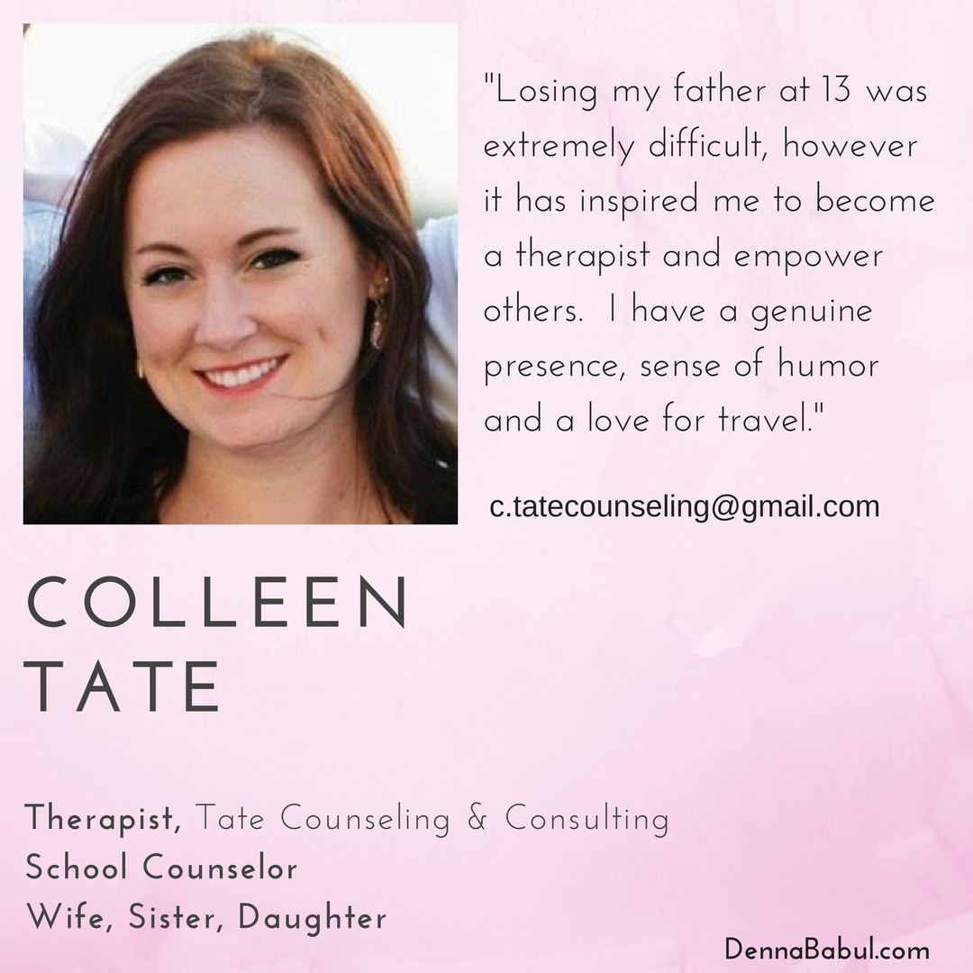 Meet Our New Mentor Colleen Tate