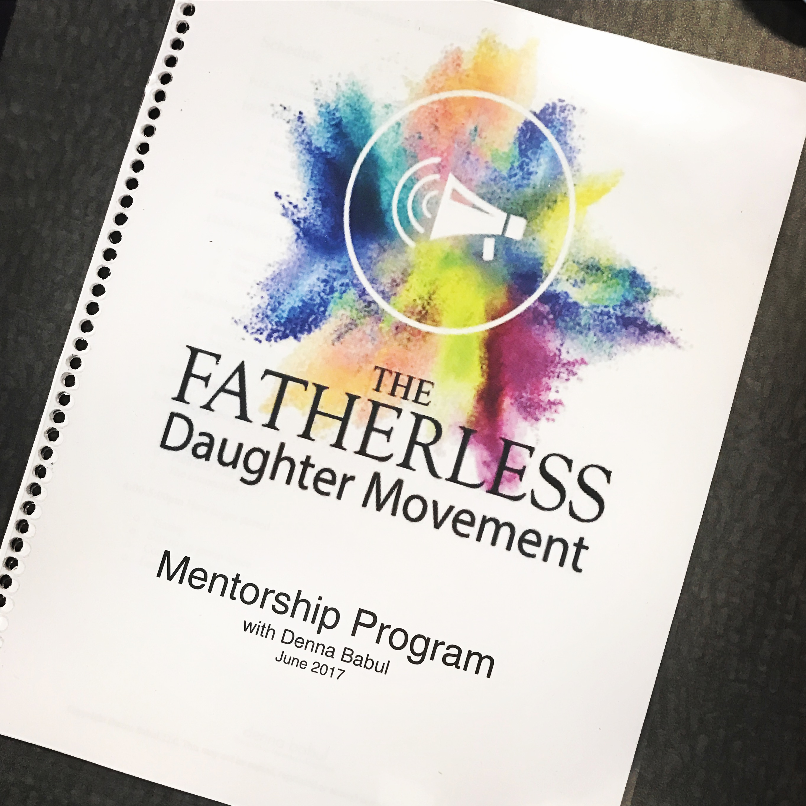 Do You Want to be a Fatherless Daughter Mentor?